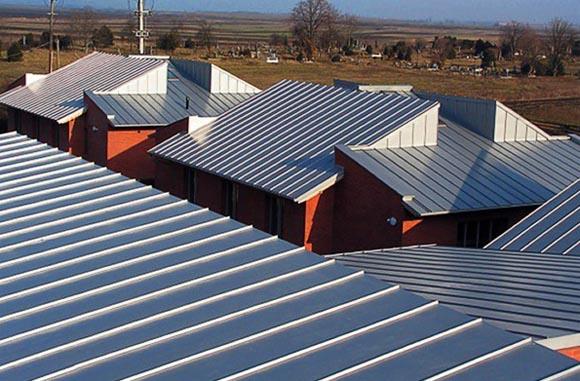 Типы металлических крыш